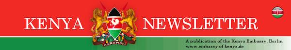 Kenyan Embassy Berlin newsletter header