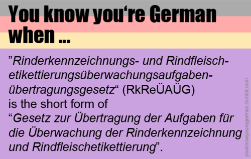 Longest German Word