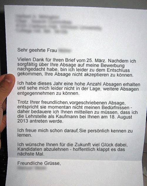 how to write a letter in german