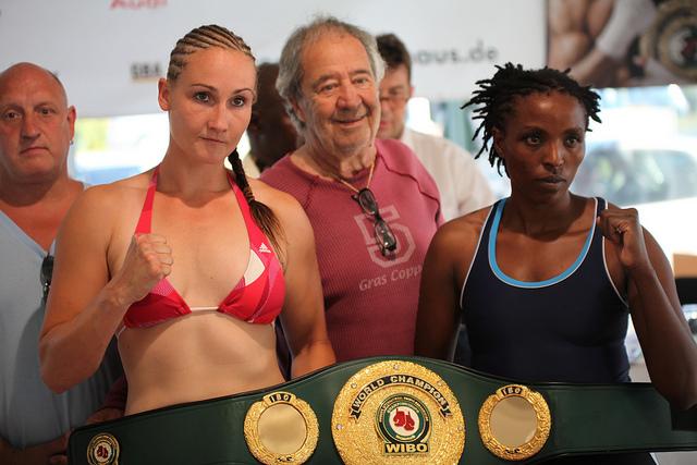 Florence Muthoni Kenyan boxer in Eberswalde Germany