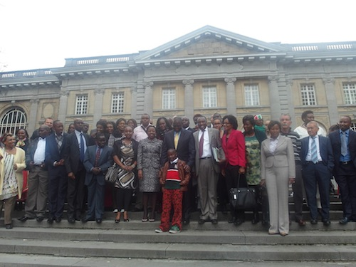 Kenyans from Germany with the Deputy President Ruto and his wife Rachel