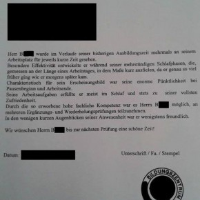 when german honesty meets a lazy employee worst reference letter ever mkenya ujerumani