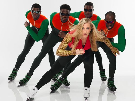 Anni Friesinger Real Cool Runnings