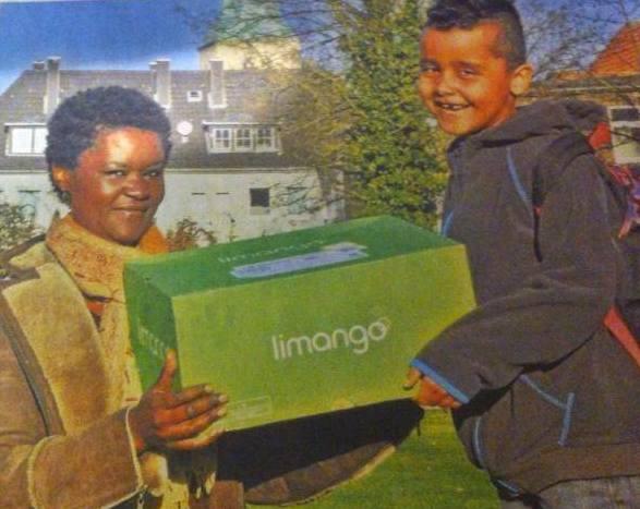 Joyce Nietiet Wanjiku Mirie and son Keeran