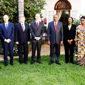 President Uhuru and Cabinet Secretary Amina Mohammed receive envoys from Germany, Italy, Iraq, Nepal, Japan, France, Hungary,
