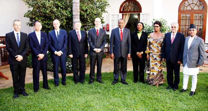 President Uhuru FINALLY Accredits the German Ambassador to Kenya