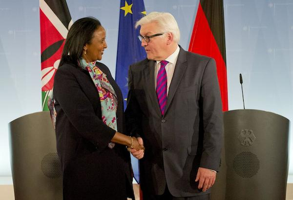 Amina Mohammed and Steinmeier