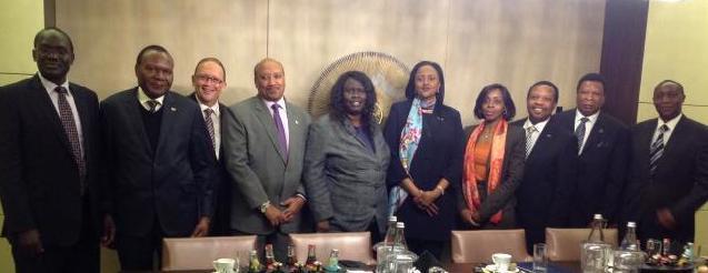 Amina Mohammed and the IGAD Ambassadors