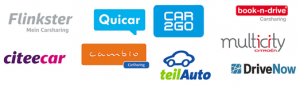 Car Sharing Providers