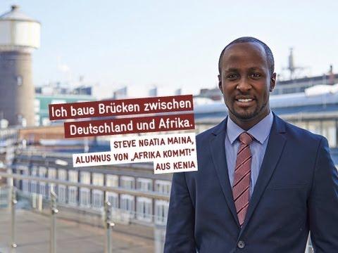 Steve Ngatia Maina Afrika Kommt