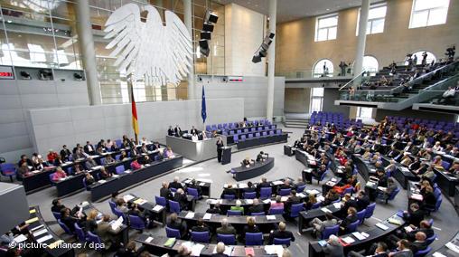 reichstag bundestag German parliament