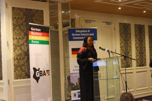 Amina Mohammed at German Business Association