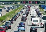 Stau, traffic jam cars