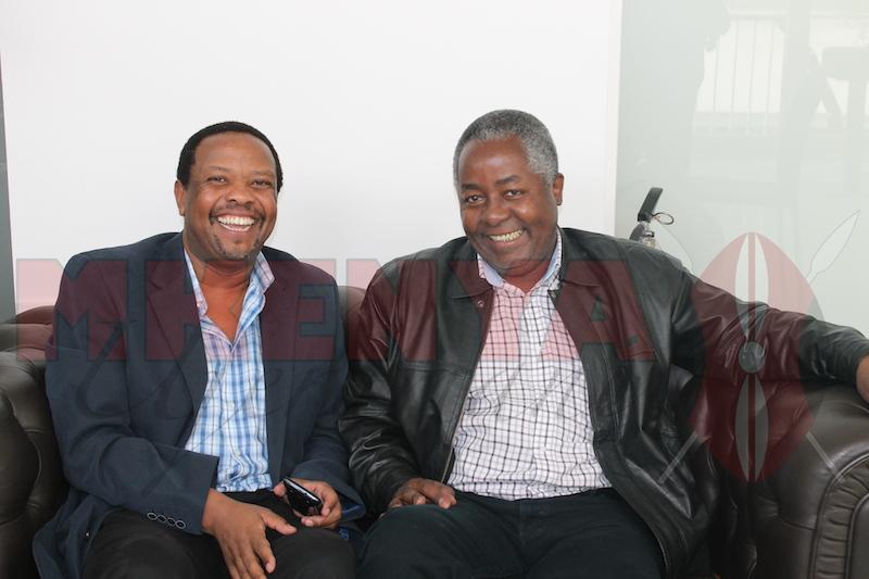 Kembi Gitura & Ken Osinde