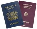 Kenyan German Passport