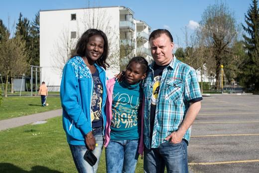 Carsten, Olivia, Norissa Scholz