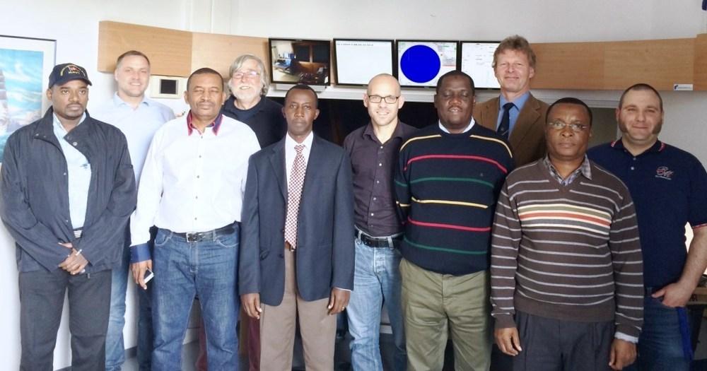 Kenyan team with University Bremen, Inros Lackner AG and Hamburg Port Services GmbH