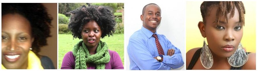 Mugethi Gitau, Martha Chumo, John Matogo, Nanjira Sambuli