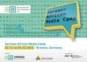German African Media Camp Comenga