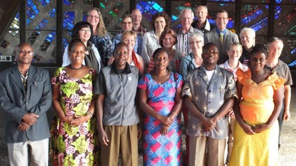 Francis Kamala (v.l.), Anne Ngao, Alfred Koleta, Jackeline Loroghwa, Kenedy Orengo und Raechel Mlawisi
