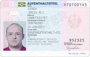 daueraufenthalt EU visum