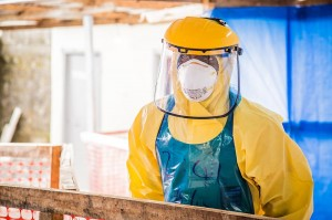 Ebola Protective clothing healthcare nurse