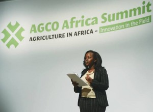 Joy Jelimo Chelagat AGCO Africa Summit 2014 Berlin
