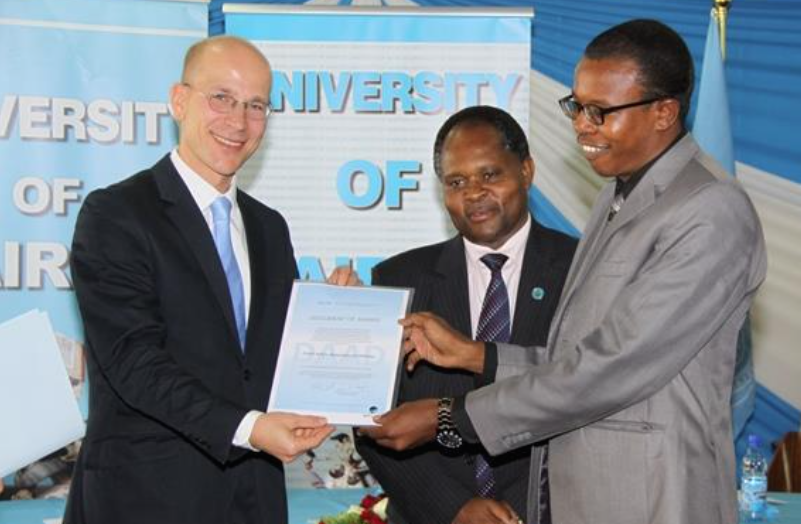 German Ambassador Writes Farewell Letter to Kenyans in Swahili