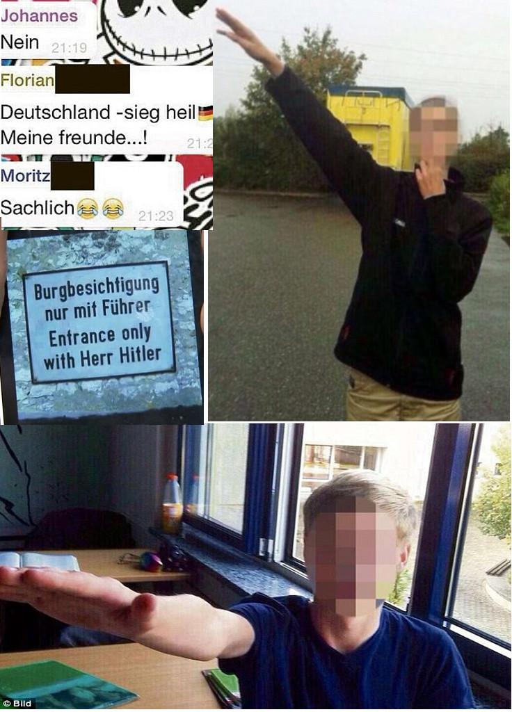 Racist Children Leipzig