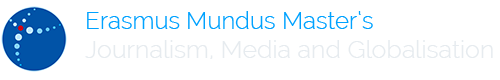 erasmus mundus journalism media globalisation master