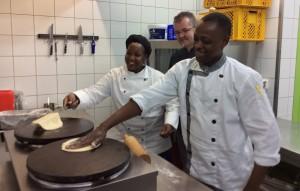Evaline Katuku Nguthu und Timothy Mbai Musyoka Severin Sunderland