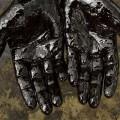 oil hands