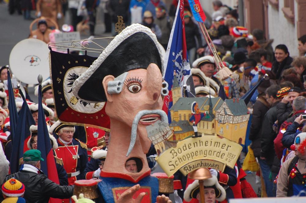 Fastnachtsumzug Carnival parade