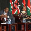Uhuru Kenyatta Amina Mohammed