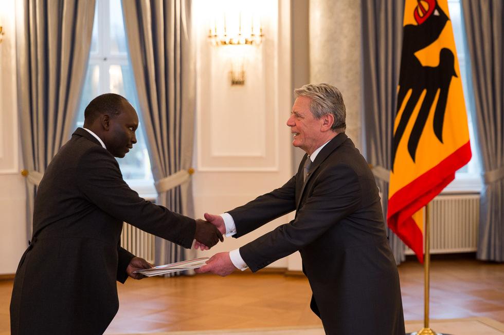 Kenyan Ambassador Presents Credentials to the German President
