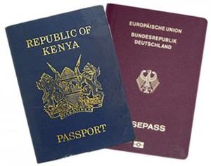 Kenyan-German-Passport