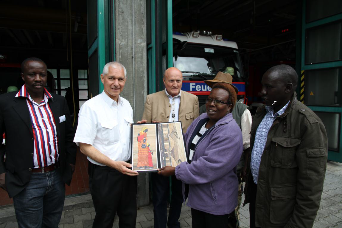 Baringo County officials in Augsburg