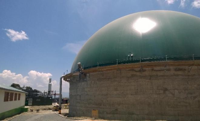 Gorge Farm AD Biogas power plant