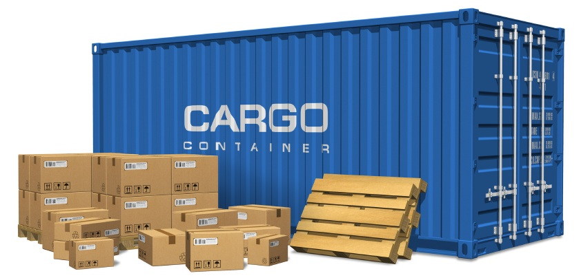 Shipping containers boxes cartons