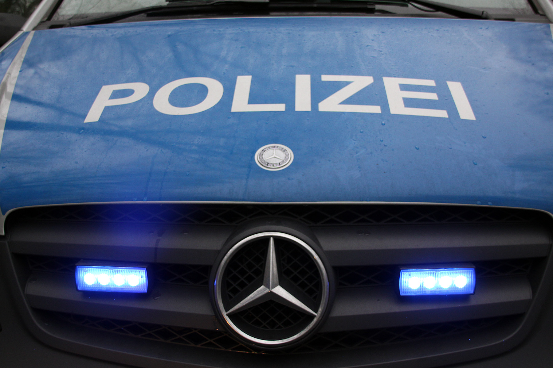 Polizei police car