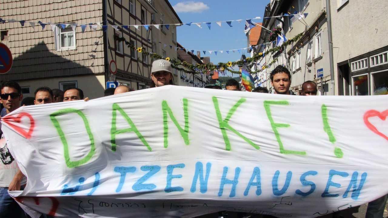 Flüchtlinge asylsuchende Asylanten witzenhausen erntefest