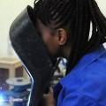 Woman African Ausbildung Azubi