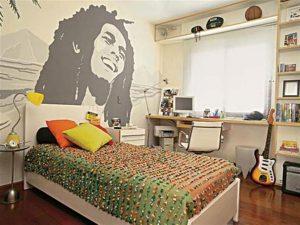 College room bedroom