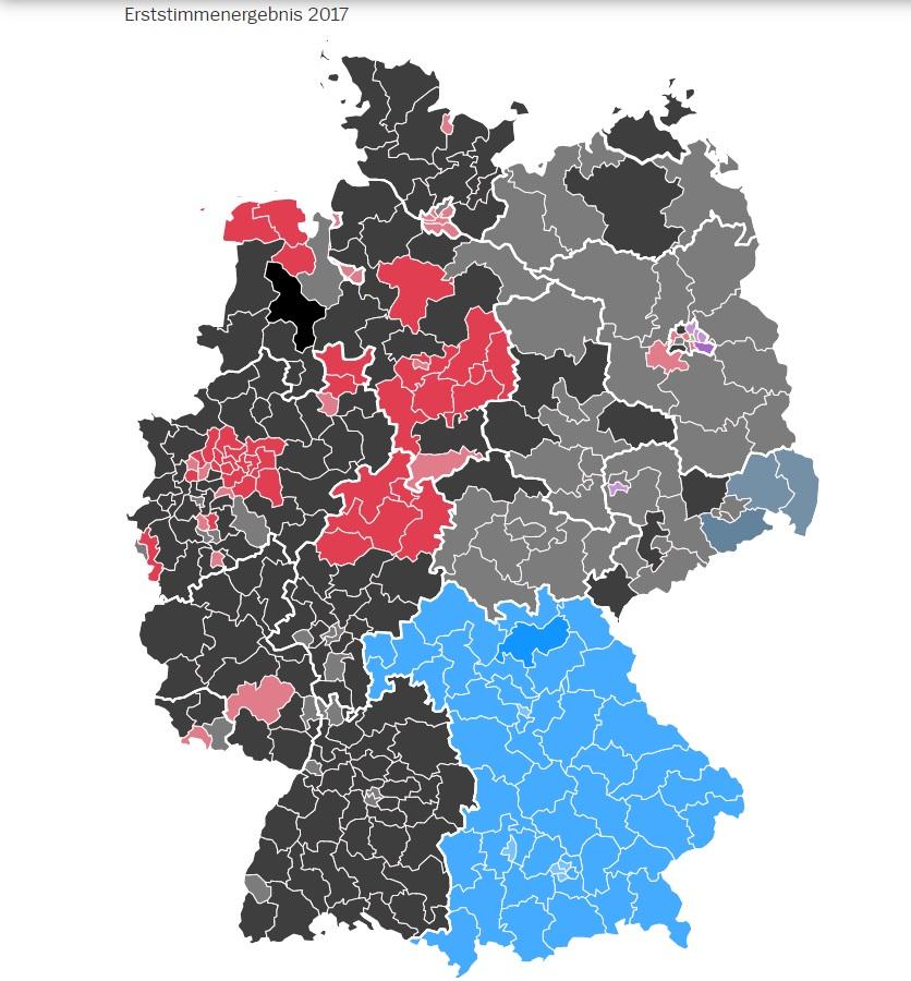 sitzverteilung bundestag 2017