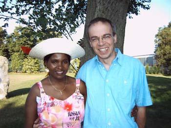 Wangeci and Helmut
