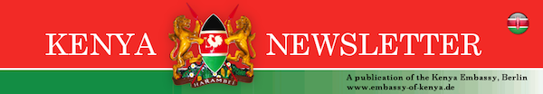 Kenyan Embassy Berlin newsletter header