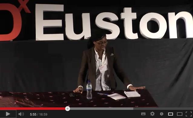 Kemi Adegoke at TEDx Euston