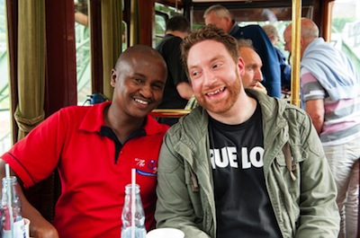 Samuel and Abigrata, the organiser