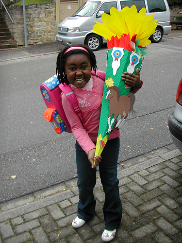 Carrying a Schultüte