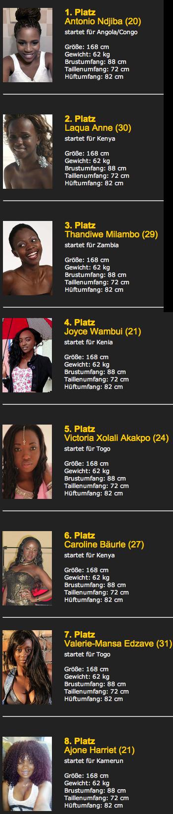 Miss Africa Bayern